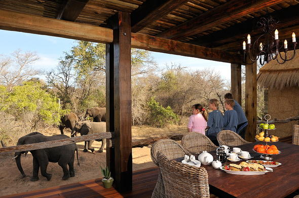 Camp Jabulani in Kapama Private Game Reserve.