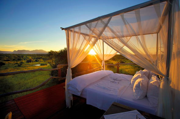 Romantic Sleepout at Kapama Game Reserve.